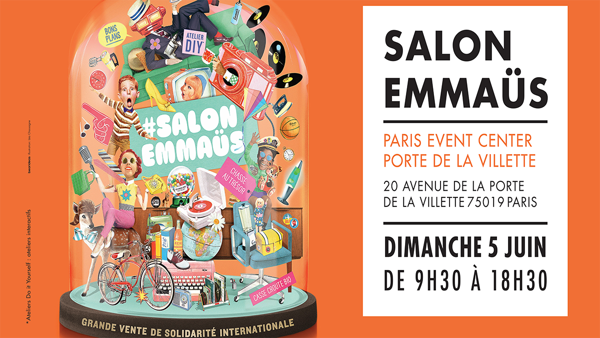 5 juin 2016 / salon emmaüs de paris | emmaus-france