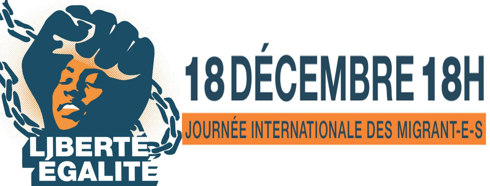 18 décembre 2018 – Journée Internationale des Migrants